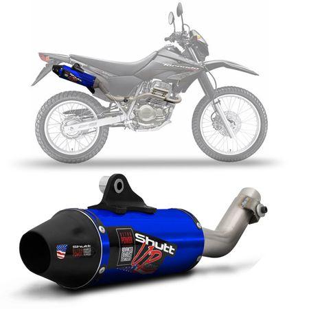 Escapamento-Esportivo-Shutt-Up-Series-Honda-XR-250-Tornado-04-05-06-07-08-Aco-Inox-com-Ponta-Azul-Moto-connectparts--1-