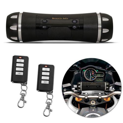 Caixa-de-Som-para-Moto-Universal-com-Alarme-Bluetooth-MicroSD-USB-Auxiliar-P2-MP3-Radio-FM-Smartphone-Preto-com-Controle-Remoto-connectparts--1-