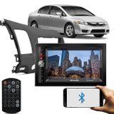 Central-Multimidia-Shutt-Chicago-2-Din-6.5-Bluetooth-Touch-Usb-Mp3---Moldura-New-Civic-2007-a-2011-connectparts---1-