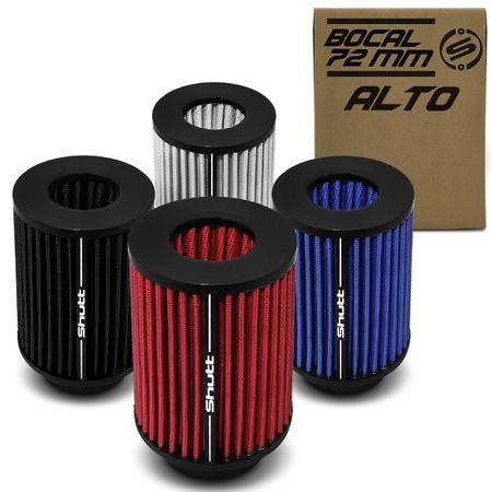 Filtro-de-Ar-Esportivo-Tunning-DuploFluxo-Alto-72mm-Conico-Lavavel-Shutt-Base-Maior-Potencia-connectparts---1-
