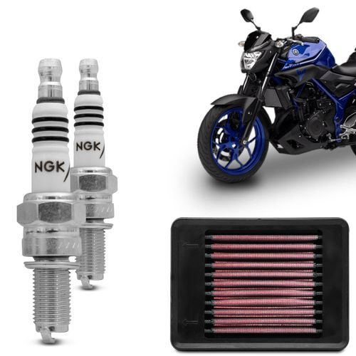 Kit-Filtro-KN---Vela-Iridium-NGK-Yamaha-MT03-YZF-R3-2015-2016-2017-2018-connectparts---1-