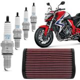 Kit-Filtro-KN-Honda-CB1000R-2011-2012-2013-2014-2015-2016-HA-1009---Vela-NGK-Iridium-IMR9E-9HES-connectparts---1-