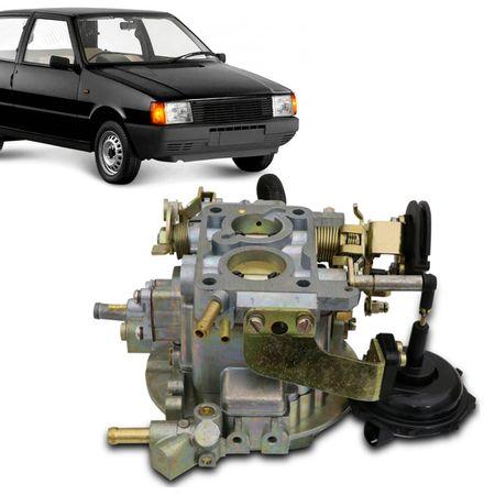Carburador-TLDF-CN495214-Uno-Mille-91-92-93-94-1.0-Gasolina-Mecar-495.214--1-