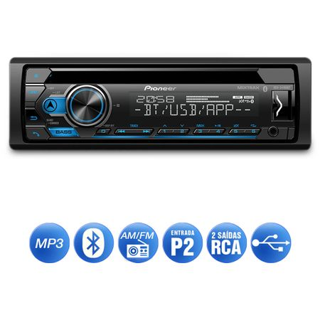 CD-Player-Automotivo-Pioneer-DEH-S4180BT-1-Din-Bluetooth-USB-MP3-Mixtrax-Interface-Android-connecparts---2-