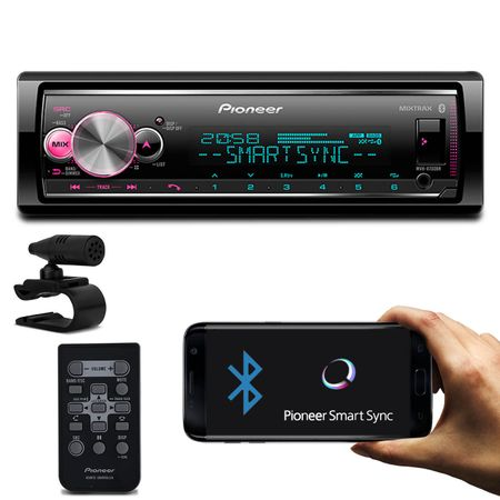 MP3-Player-Receiver-Pioneer-MVH-X700BR-1-Din-Bluetooth-Interface-Android-IOS-Flashing-Lights-Mixtrax-connectparts---1-