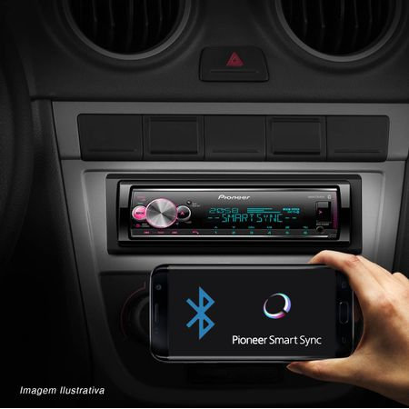 MP3-Player-Receiver-Pioneer-MVH-X700BR-1-Din-Bluetooth-Interface-Android-IOS-Flashing-Lights-Mixtrax-connectparts---5-