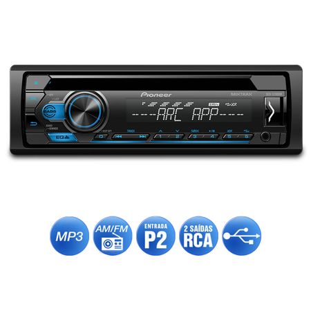 CD-Player-Automotivo-Pioneer-DEH-S1180UB-1-Din-USB-MP3-Mixtrax-Interface-Android-connectparts---2-