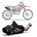 Escapamento-Esportivo-Shutt-Up-Series-Honda-CRF-230-08-09-10-11-12-13-14-15-Aco-Inox-com-Ponta-Preta-Moto-connectparts--1-