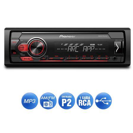 MP3-Player-Receiver-Automotivo-Pioneer-MVH-S118UI-1-Din-USB-Interface-Andoid-IOS-Spotify-Mixtrax-connectparts---2-