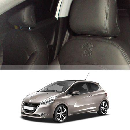 --Revestimento-Banco-Couro-Peugeot-208-2014-a-2017-Preto-30por-cento-Couro-Legitimo-Interico-14-pecas-connectparts---1-