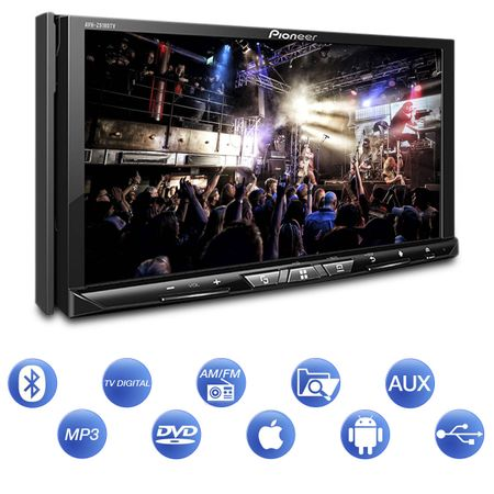 DVD-Player-Pioneer-AVH-Z9180TV-2-DIN-Bluetooth-Espelhamento-Android-Auto-Apple-CarPlay-Wifi-USB-connectparts---2-