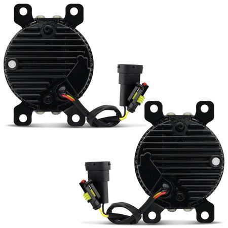 Kit-Led-Farol-Milha-Citroen-Honda-Renault-Ford-Nissan-Mitsubishi-Peugeot-Jeep-Universal-3X3W-12V-Drl-connectparts--4-