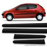 Friso-Lateral-Peugeot-206-2000-4-Portas-4-Pecas-Modelo-Original-Injetado-connectparts--1-