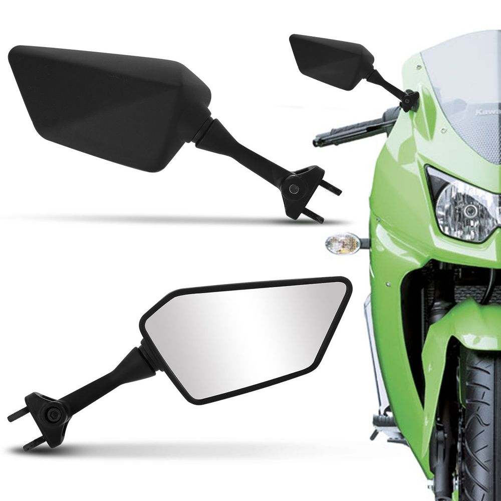 Par Retrovisor Universal Kawasaki Ninja 250 Connect Parts