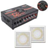 Kit-Amplificador-Trinity-Turbo-Dance-300w-Rms-Preto---Par-de-Arandelas-50w-Branca-Rms-Som-Ambiente-connectparts---1-
