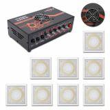 Kit-Amplificador-Trinity-Turbo-Dance-300w-Rms-Preto---8-Arandelas-200w-Rms-Branca-Som-Ambiente-connectparts---1-