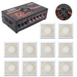 Kit-Amplificador-Trinity-Turbo-Dance-300w-Rms-Preto---10-Arandelas-250w-Rms-Branca-Som-Ambiente-connectparts---1-