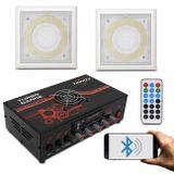 Kit-Amplificador-Trinity-Turbo-Dance-300w-Rms-BT-USB-Preto---Par-de-Arandelas-50w-Rms-Som-Ambiente-connectparts---1-