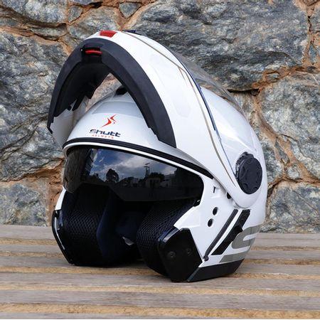 Capacete-Escamoteavel-de-Moto-Shutt-Whitemax-Branco-com-Viseira-Solar-connectparts--6-