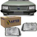Par-Farol-Del-Rey-Belina-1985-1986-1987-1988-1989-1990-1991-Foco-Simples-Original-Arteb-connectparts---1-