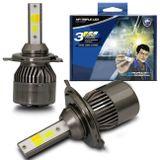 Par-Lampadas-Automotivas-Super-LED-Triple-Color-H4-3000K-4300K-6000K-Luz-Amarela-e-Luz-Branca-22W-4800-Lumens-12V-e-24V-Efeito-Xenon-Carro-Moto-e-Caminhao-connectparts--1-