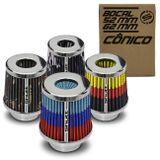 Filtro-de-Ar-Esportivo-Tunning-DuploFluxo-52-62mm-Conico-Lavavel-Especial-Shutt-Base-Cromada-connectparts--1-