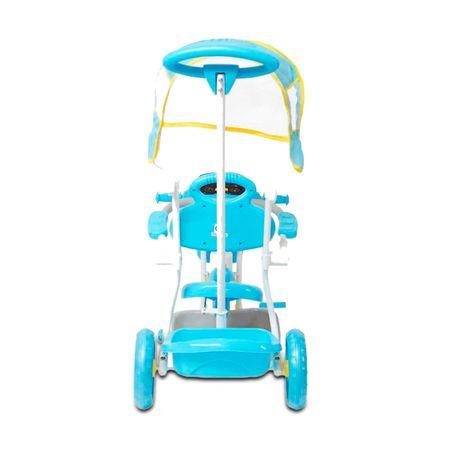 Triciclo-Infantil-Azul-2-Em-1-Haste-Para-Empurrar-E-Pedal-Duas-Cestas-Toca-Musica-Acende-Farol-connectparts--4-