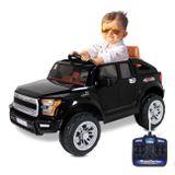Carro-Eletrico-Carrinho-Infantil-Pickup-Off-Road-V8-12V-Entrada-Aux-Mp3-Controle-Remoto-Preto-connectparts--1-