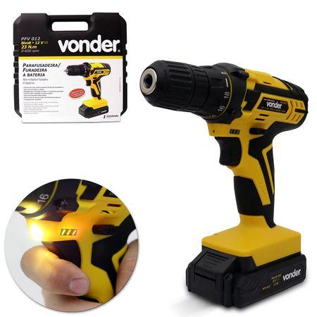 Furadeira-Parafusadeira-Vonder-6mm-Bateria-de-Litio-PFV012-127V-220V-18-Niveis-de-Torque-Com-Maleta-connectparts--1-