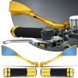Retrovisor-Moto-Esportivo-Triangular-Tipo-Rizoma-Aluminio-Inteiro-Dourado---Manopla-Aluminio-Dourada-connectparts---1-