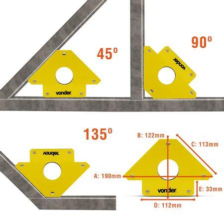 Esquadro-Magnetico-Vonder-Para-Soldador-Capacidade-30Kg-Angulos-de-Montagem-45°-90°-135°-connectparts--5-