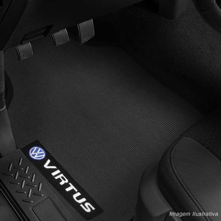 Jogo-Tapete-Borracha-Pvc-Volkswagen-Virtus-2018-A-2019-Preto-4-Pecas-connectparts--5-