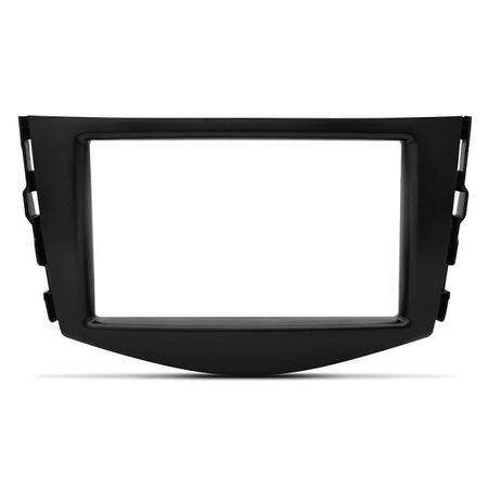 Moldura-Do-Painel-2Din-Dvd-Multimidia-Toyota-Rav4-Preta-2006-A-2012-Japones-Chines-connectparts--2-