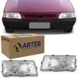 Par-Farol-Versailles-Royale-1991-1992-1993-1994-1995-1996-1997-Foco-Simples-Cristal-Original-Arteb-connectparts--1-