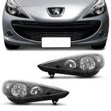 Par-Farol-Peugeot-207-2007-2008-2009-2010-2011-2012-2013-2014-2015-Mascara-Negra-Foco-Duplo-connectparts--1-