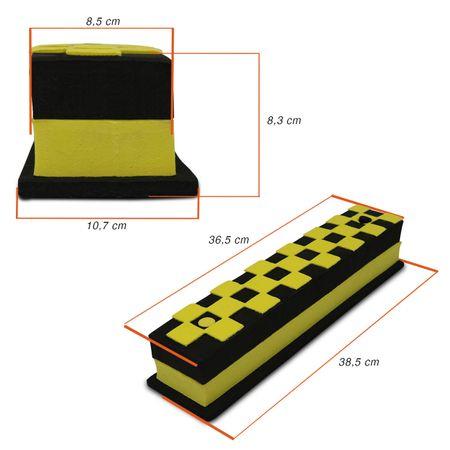 Protetor-de-Impacto-Parachoque-Parede-Base-Retangular-Amarelo-com-Preto-Garagem-2-Pecas-em-EVA-connectparts--2-