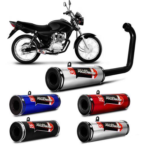 Escapamento-Moto-Esportivo-CG-Titan-150-ESD-2005-a-2008-Shutt-Powerbomb-Bacalhau-Sem-Protetor-CONNECTPARTS---1-