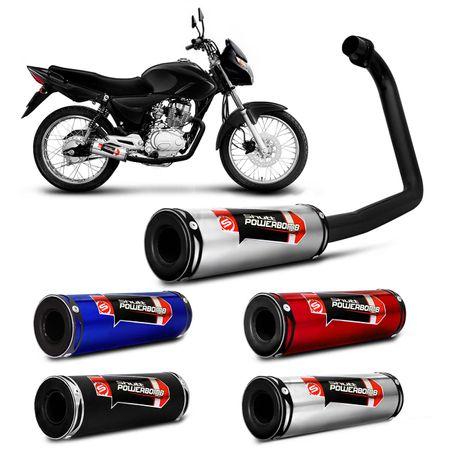 Escapamento-Moto-Esportivo-CG-Fan-125-ES-KS-2013-a-2015-Shutt-Powerbomb-Sem-Protetor-connectparts---1-
