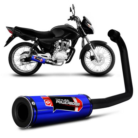 Escapamento-Moto-Esportivo-CG-Fan-125-ES-KS-2013-a-2015-Shutt-Powerbomb-Sem-Protetor-connectparts---2-