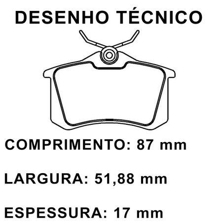 Pastilha-de-Freio-Traseira-Peugeot-308-SW-2.0I-16V-2007-em-Diante-Modelo-Girling-ECO1245-Ecopads-connectparts---2-