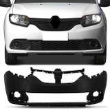 Para-choque-Dianteiro-Renault-Sandero-Logan-2014-a-2018-Preto-Liso-connectparts--1-