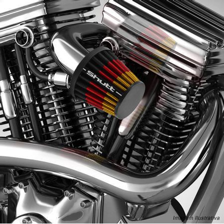 Filtro-de-Ar-Esportivo-Moto-Tunning-MonoFluxo-33mm-Conico-Lavavel-Especial-Shutt-Borracha-Potencia-connectparts---5-