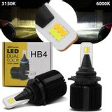 Kit-Lampadas-LED-HB4-9006-3150K-6000K-4000-Lumens-12V-25W-Headlight-Dual-Color-Luz-Branca-Shocklight-connectparts---1-