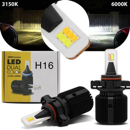 par-lampadas-automotivas-super-led-dual-color-h16-3150k-6000k-25w-4000-lumens-luz-amarela-e-luz-branca-efeito-xenon-12v-connect-parts--1-