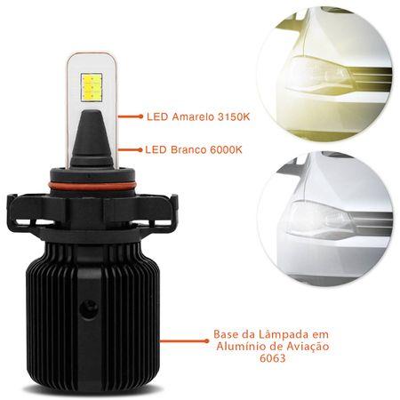 par-lampadas-automotivas-super-led-dual-color-h16-3150k-6000k-25w-4000-lumens-luz-amarela-e-luz-branca-efeito-xenon-12v-connect-parts--3-