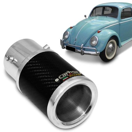 Ponteira-de-Escapamento-Carbox-Racing-Fusca-Carbono-Redonda-Aluminio-Cromado-connectparts---1-