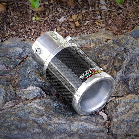 Ponteira-de-Escapamento-Carbox-Racing-Fusca-Carbono-Redonda-Aluminio-Cromado-connectparts---5-