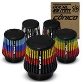 Filtro-de-Ar-Esportivo-Tunning-MonoFluxo-85mm-Conico-Lavavel-Especial-Shutt-Base-Borracha-Potencia-connectparts---1-