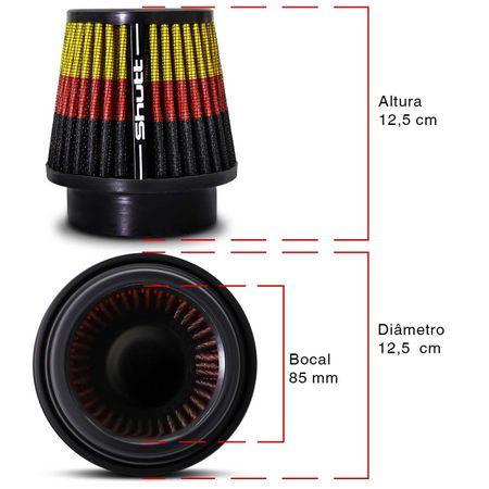 Filtro-de-Ar-Esportivo-Tunning-MonoFluxo-85mm-Conico-Lavavel-Especial-Shutt-Base-Borracha-Potencia-connectparts---3-