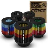 Filtro-de-Ar-Esportivo-Tunning-DuploFluxo-52mm-Conico-Lavavel-Especial-Shutt-Base-Borracha-Potencia-connectparts---1-